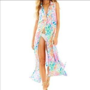 Lilly Pulitzer Ezra Maxi Beach Dress